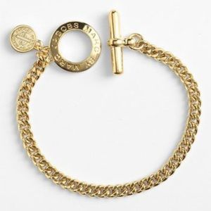 Marc by Marc Jacob Gold Toggles Turnlock Bracelet (NWOT)